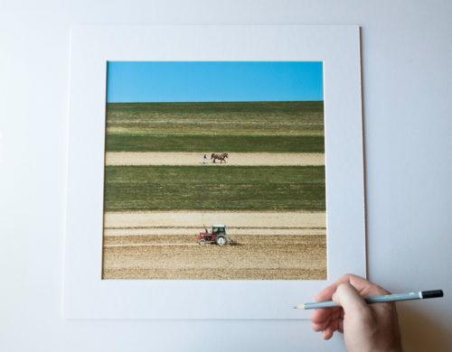 """""""Koniunkcja"""", rozmiar: 30x30cm (oprawa 40x40cm), limitowana edycja 11 egzemplarzy (+2AP)"""