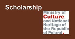 Scholarship of Ministry of Culture and National Heritage of the Republic of Poland for 2018