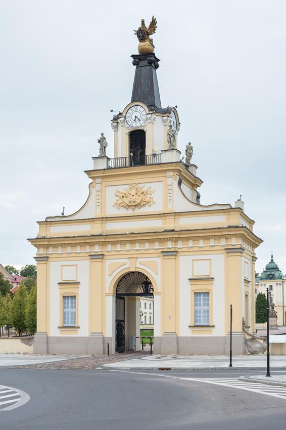 Brama Pałacu Branickich, fot. K. Ligęza