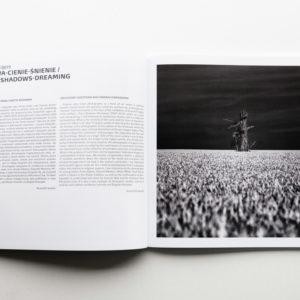 Katalog wystawy z moimi zdjęciami i esejem Krzysztofa Jureckiego