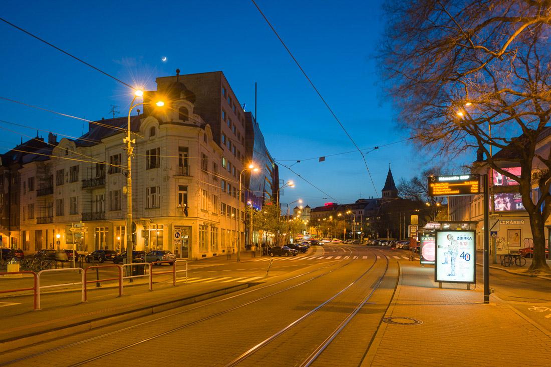 Siedziba Instytutu Polskiego nocą, fot. K. Ligęza
