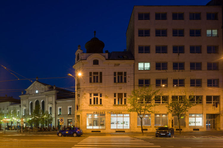 <em> Axis mundi: roadside shrines & crosses</em>, <br>Polish Institute,<br>Bratislava, SK