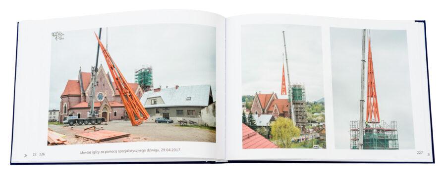 Nowy album Rozbudowa kościoła pw. NMP w Stróżach